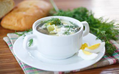 Sorrel Soup – a taste of spring