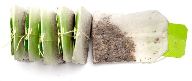 how to make soil fertile naturally - used teabags