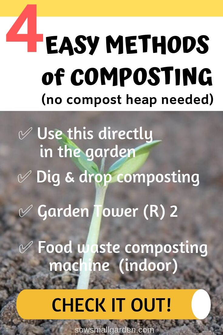 4 easy methods of composting to improve garden soil