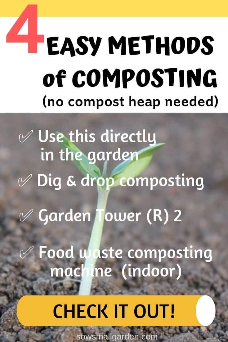4 easy methods of composting to improve garden soil