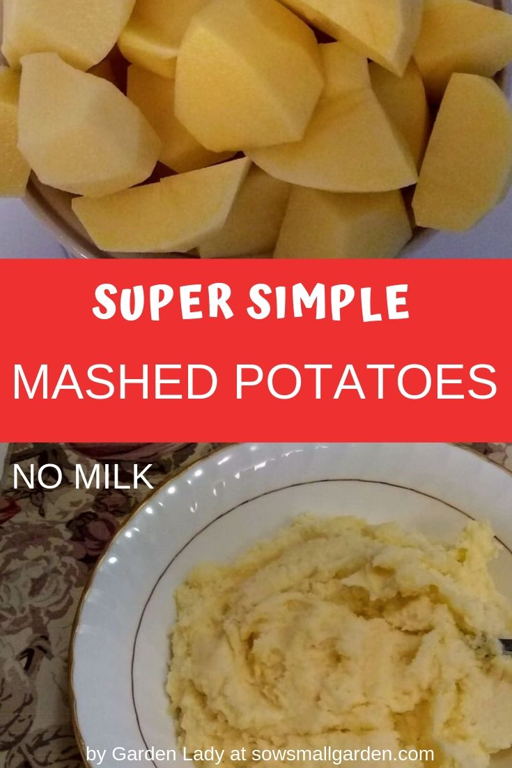tasty mashed potatoes with sour cream