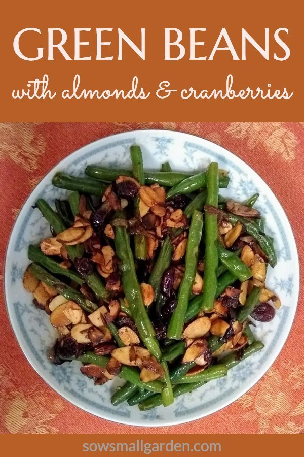green beans with almonds side dish