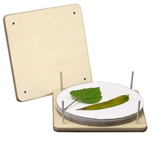 leaf press