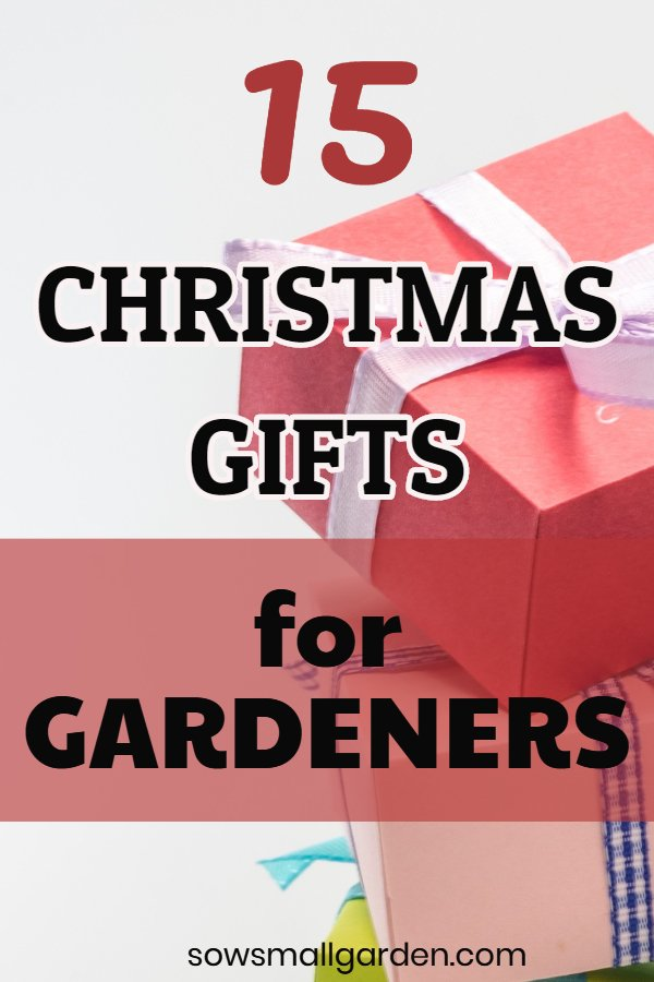 Gardening Gifts for Christmas