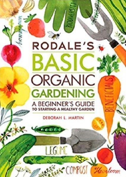 Christmas gift - organic gardening book
