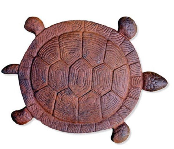 christmas gift - turtle stepping stone