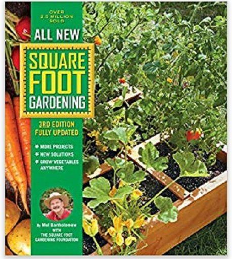 new square foot garden book