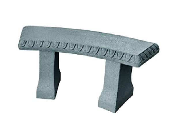resin stone imitation bench