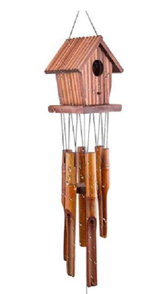 wind chime / birdhouse