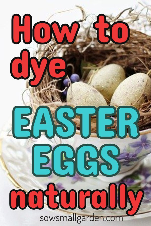 how to dye Easter eggs with onion skins