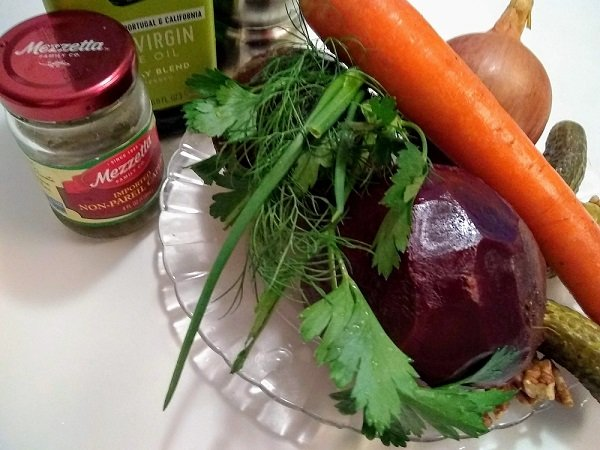 beet salad ingredients - expanded version