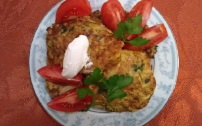 Squash Fritters (with a secret ingredient)