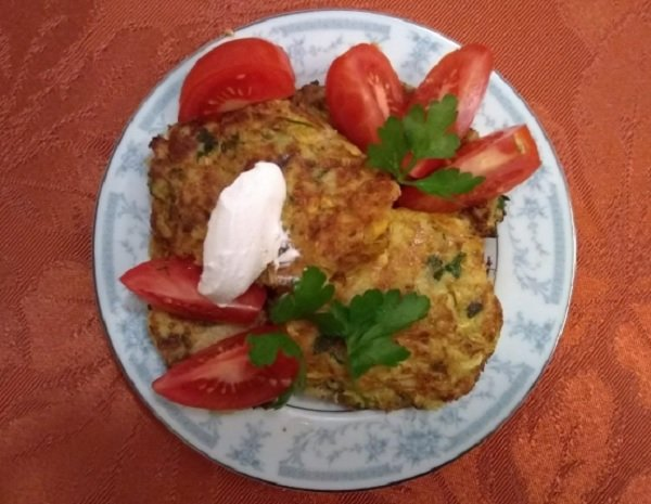 almost famous squash fritters