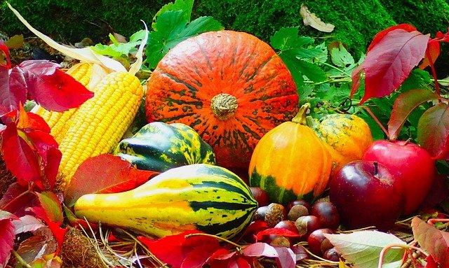 fall decorating ideas: winter squash