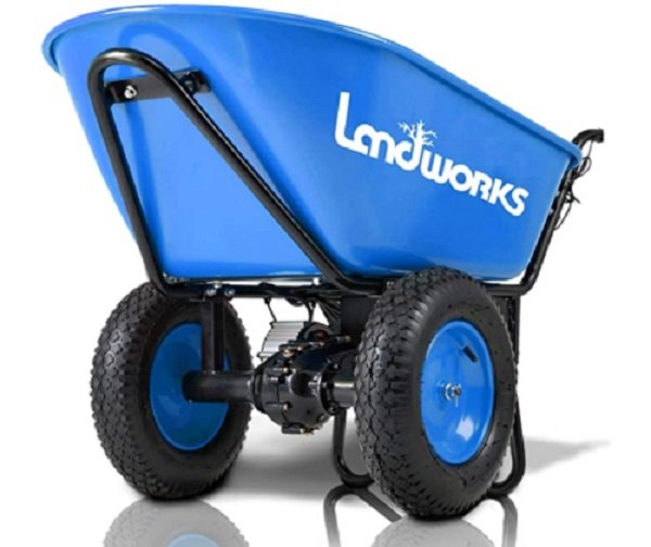 electric 2 wheel wheelbarrow