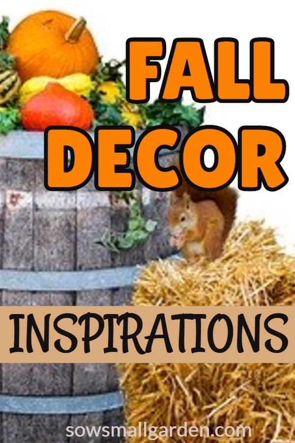 nature inspired fall decor ideas