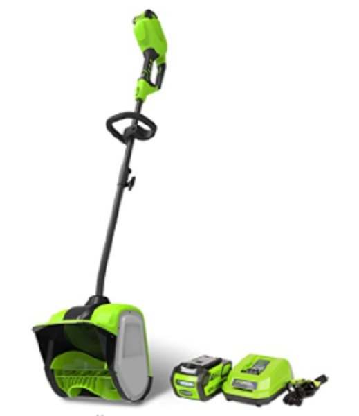 greenworks cordless power snow shovel