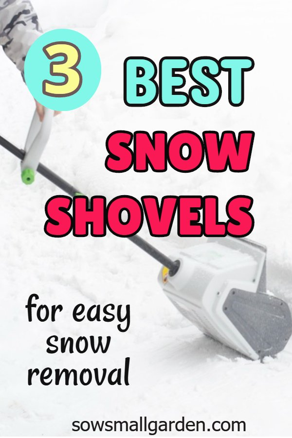 best crd free electric snow shovels