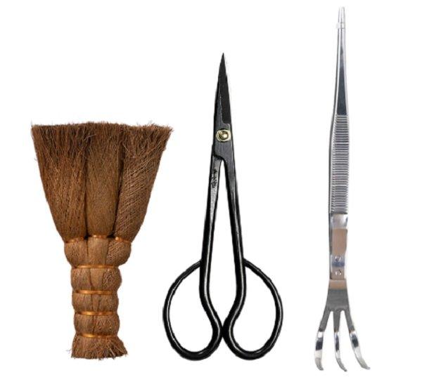 Bonsai garden tool set