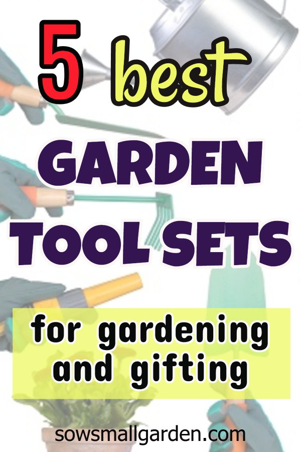 best garden tool sets - great for gardening or gifting