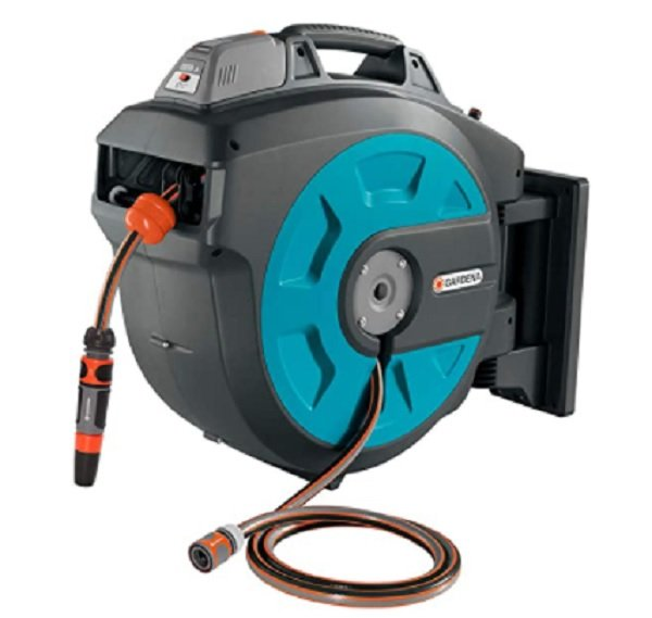 best battery operated auto garden hose reel