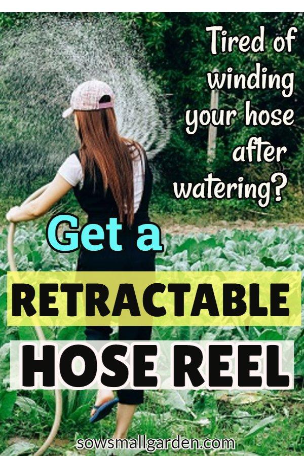 retractable hose reel review