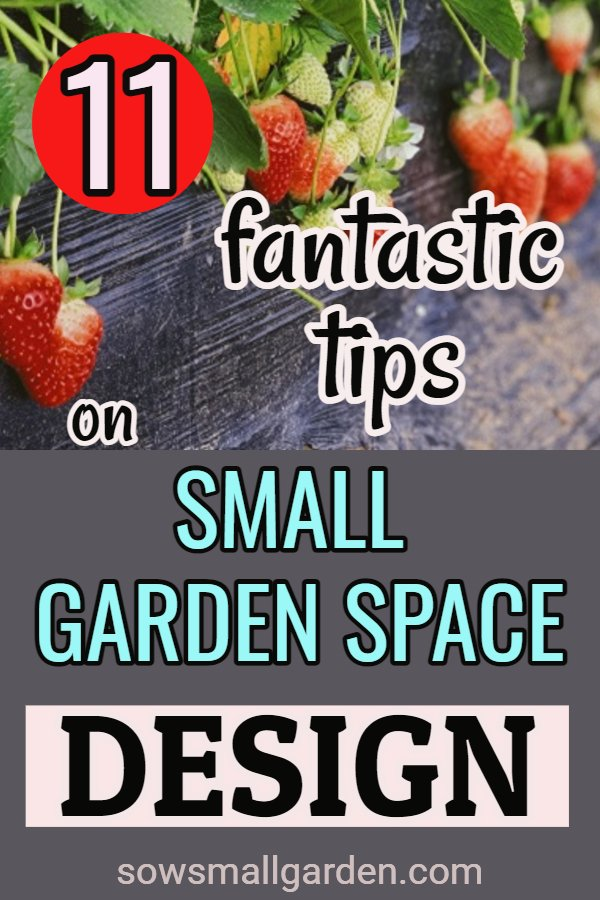 tips on small garden space design