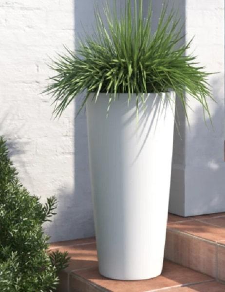 tall fiberglass planter
