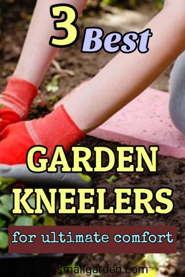 3 best garden kneeling pads