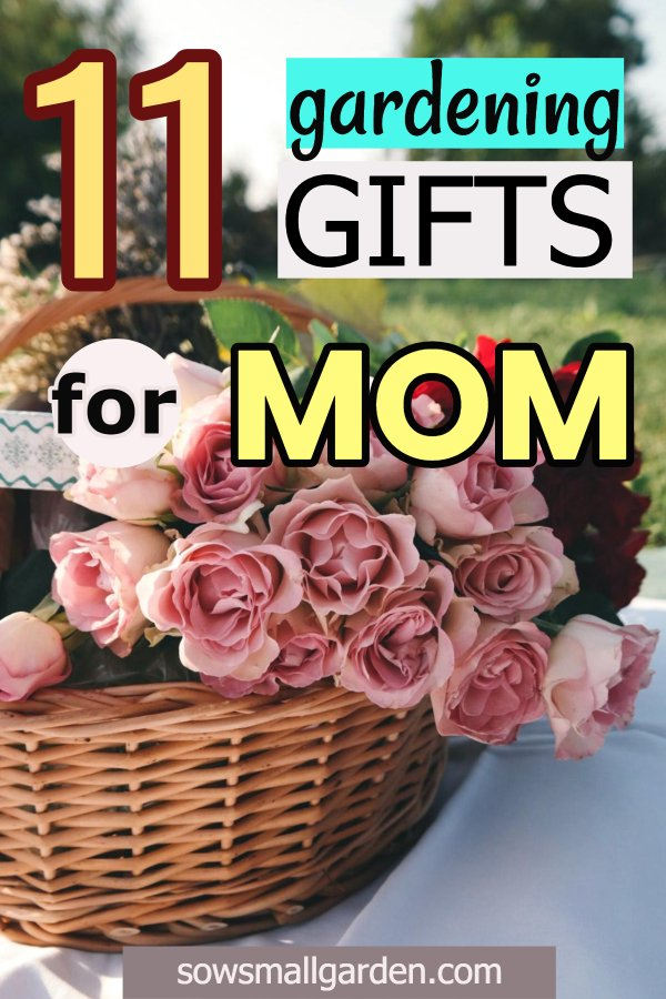 practical gardening gifts for mom