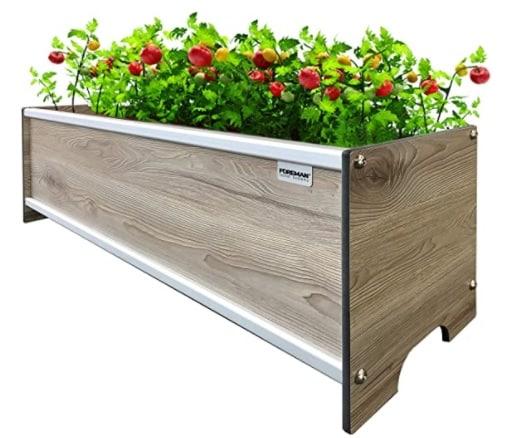 elevated planter-box