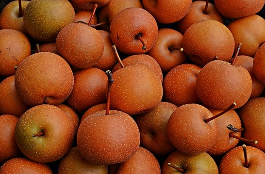 Asian pears - Hosui variety
