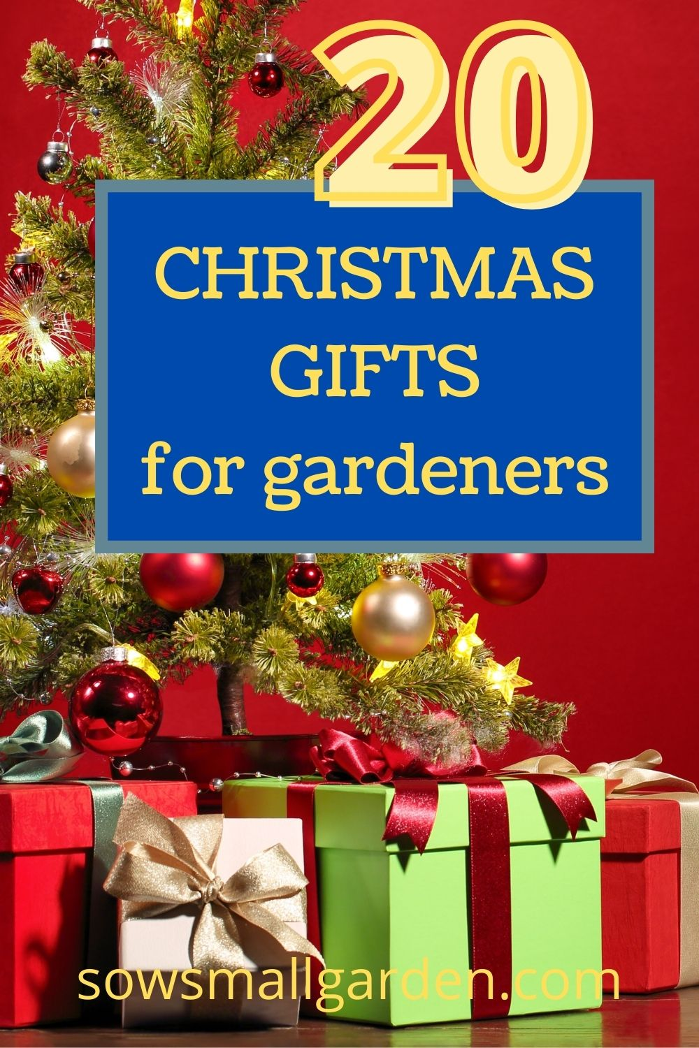 20 great Christmas gift ideas for gardeners