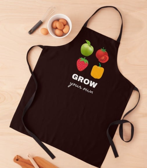 Grow your own - apron