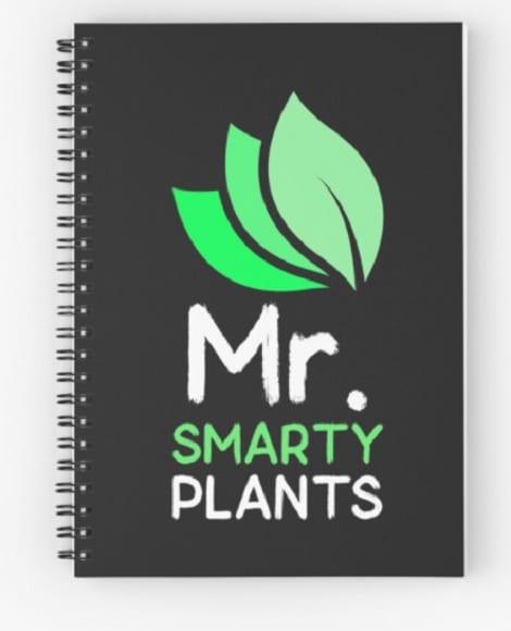 Mr. Smarty Plants notebook