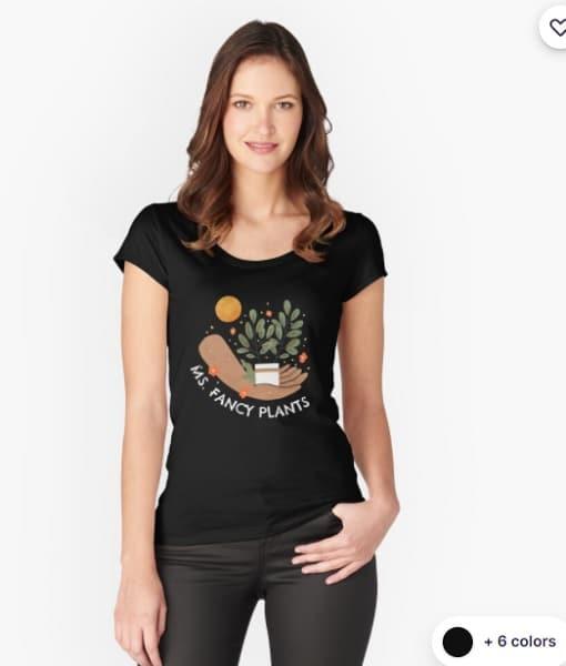 gardening gifts for her - a witty gardening shirt for women