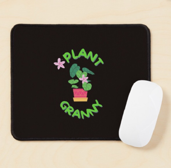 Mouse pad for gardeners