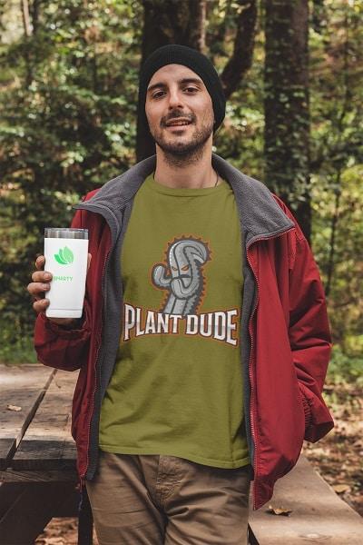 Plant dude shirt