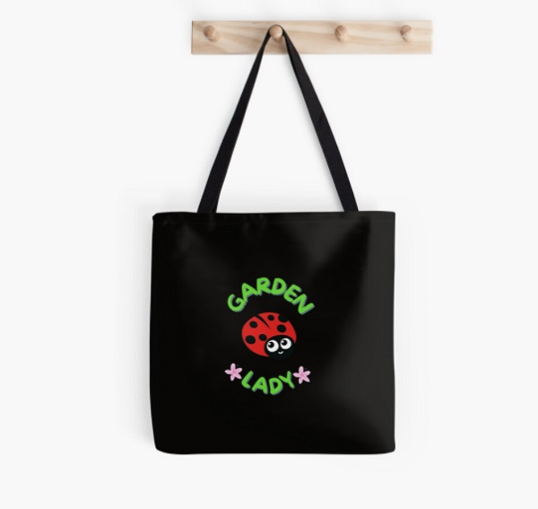 Garden Lady tote bag - great gift for a gardener